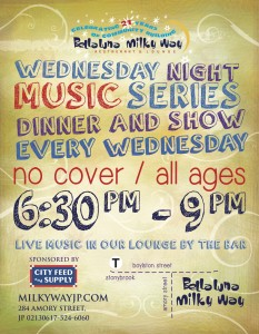Live Music Series @ Bella Luna Restaurant & Milky Way Lounge | Boston | Massachusetts | United States