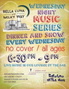 Live Music Series 6:30-9PM