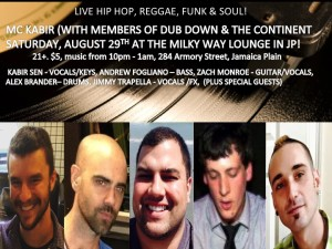 An Evening With MC Kabir feat. Members of Dub Down & The Continent @ Bella Luna Restaurant & The Milky Way Lounge | Boston | Massachusetts | United States