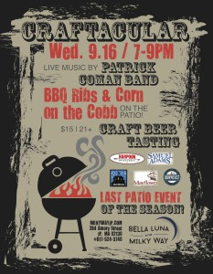 BBQ Craftacular Beer Tasting @ Bella Luna Restaurant & Milky Way Lounge | Boston | Massachusetts | United States