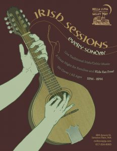 Irish Sessions @ Bella Luna Restaurant & Milky Way Lounge